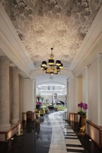 A restaurant or other place to eat at Aria Hotel Budapest by Library Hotel Collection