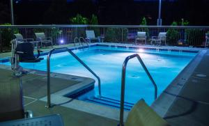 The swimming pool at or near Hampton Inn Philadelphia-Great Valley
