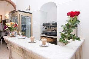 Cucina o angolo cottura di Hotel Fontana
