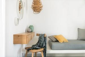 Χώρος καθιστικού στο A Hotel Mykonos