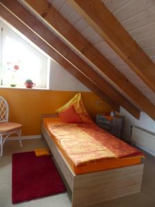 Ein Bett oder Betten in einem Zimmer der Unterkunft Apartment Neuss