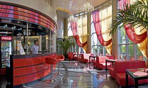 A restaurant or other place to eat at Sanatoriy Ryabinushka
