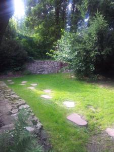 Ogród w obiekcie Apartament w Górach