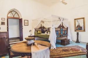 A seating area at Zanzibar Coffee House