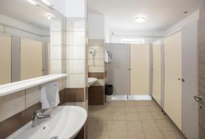 Ванная комната в Hostel Soline