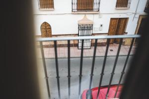 Un balcón o terraza de Posada de Momo