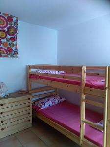 A bunk bed or bunk beds in a room at Hostel 33