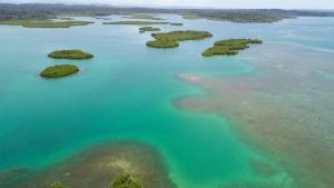 A bird's-eye view of Urraca Private Island