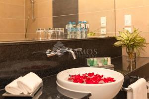 A bathroom at Catina Saigon Hotel