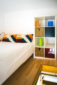 Cama o camas de una habitación en Eva Recommends Old Convent S.XVIII