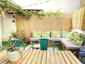 Piscina en o cerca de Apartamento con jardín privado
