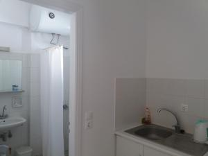 Cuisine ou kitchenette dans l'établissement Bizas Rooms