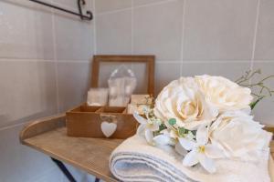 A bathroom at Le Quattro Stelle Affittacamere