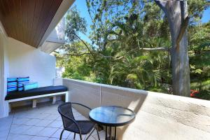 A balcony or terrace at Tea Trees