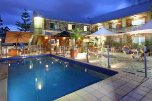 The swimming pool at or near Best Western Gregory Terrace
