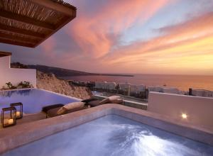 The swimming pool at or near Santo Maris Oia Luxury Suites & Spa
