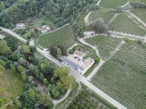 A bird's-eye view of Marcarini Agriturismo