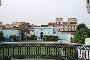 A balcony or terrace at Malji Ka Kamra