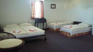Postel nebo postele na pokoji v ubytování Vila Helena