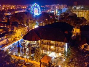 A bird's-eye view of Astel Villa