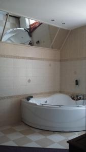 Koupelna v ubytování Vila Helena