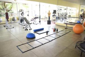 The fitness center and/or fitness facilities at Rosa Spa e Hotel