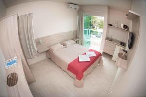 Cama o camas de una habitación en Pousada Dom Toazza