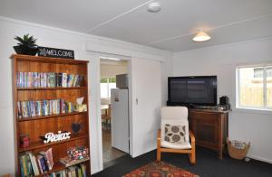 A television and/or entertainment center at HIGHTIDE