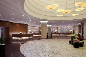 Preddverje oz. recepcija v nastanitvi Hilton Fukuoka Sea Hawk