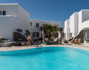 The swimming pool at or near A Hotel Mykonos