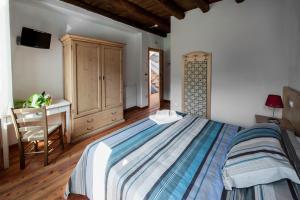 Letto o letti in una camera di Albergo Parigi