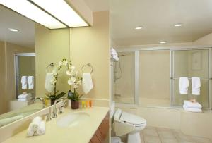 A bathroom at Aqua Oasis