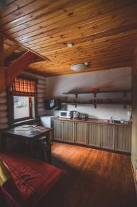Кухня или мини-кухня в Актив-Отель Горки