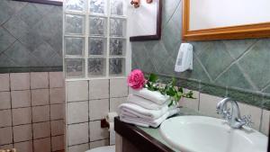 Un baño de Hotel Rural Finca La Hacienda