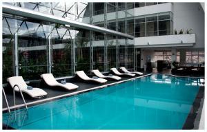 The swimming pool at or near Casa Grande Hotel