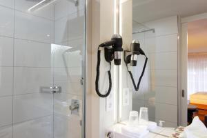Ein Badezimmer in der Unterkunft Hotel Restaurant Reichsadler