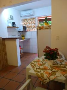 A cozinha ou cozinha compacta de Kitchenette Charmosa no Itagua