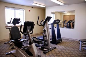 The fitness center and/or fitness facilities at Quinault Sweet Grass Hotel