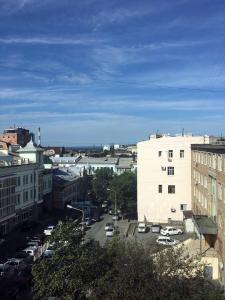 A bird's-eye view of Apartment on Posyetskaya 40