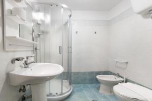 A bathroom at Magic Double