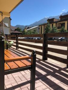 A balcony or terrace at Monte Rosa