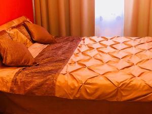 Кровать или кровати в номере Apartment Prague