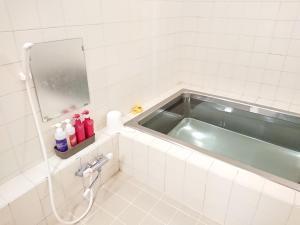 A bathroom at Hotel Crown Hills Imabari