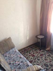 Кровать или кровати в номере Inema Мотель