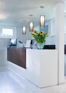 Lobby/Rezeption in der Unterkunft Residence Appartements