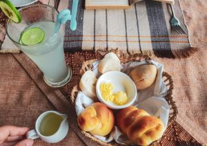 Breakfast options available to guests at The Hotel - Kalaw Hill Lodge