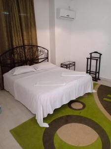 A bed or beds in a room at Villa barnat