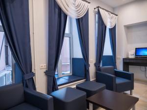 Гостиная зона в Невский Берег 122