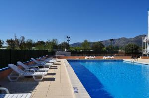 The swimming pool at or near Nautilus Hotel
