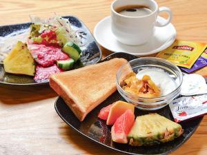 Breakfast options available to guests at HOTEL UNIZO Osaka Yodoyabashi